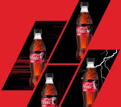Coca Cola reklaminiai skydeliai